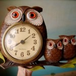 Owl Clock by Domestikate