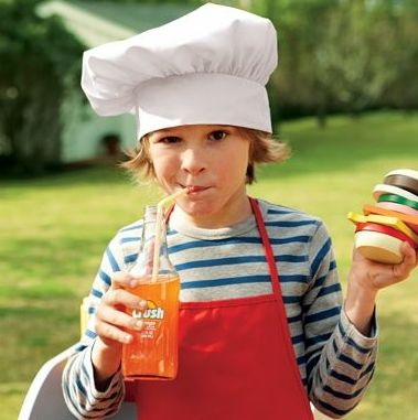 деца готвачи