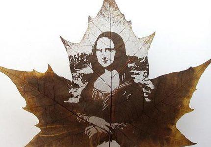 Мона Лиза карвинг листа