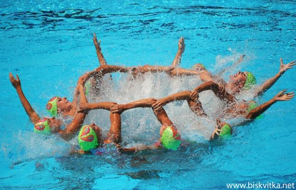 синхронно плуване