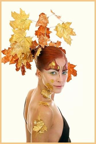 лицето на есента