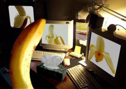 секс с банани