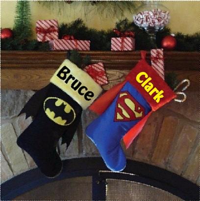 необичайно коледно чорапче