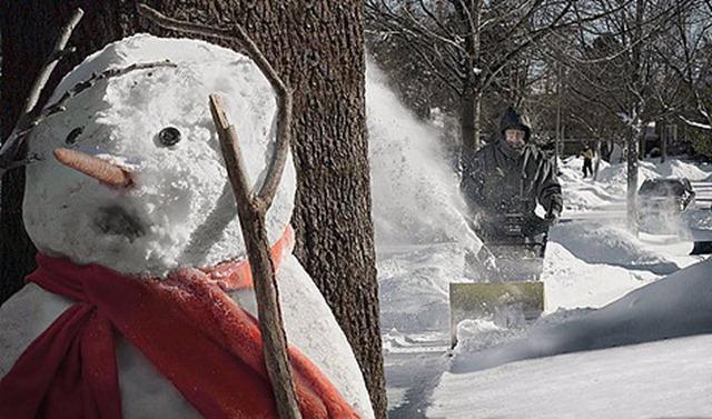 снежен човек страх