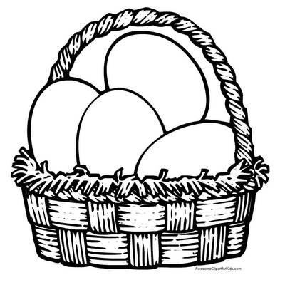 кошничка с яйца