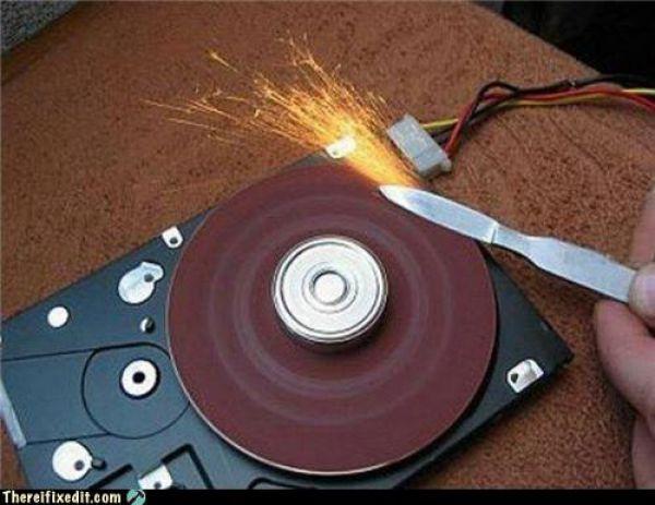 рециклиране хард диск
