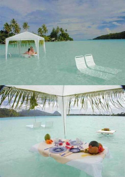 ресторант във водата