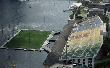 необичайни стадиони