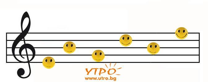 усмихнати ноти