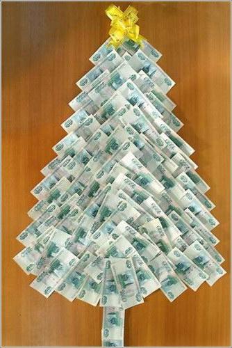 елха от банкноти
