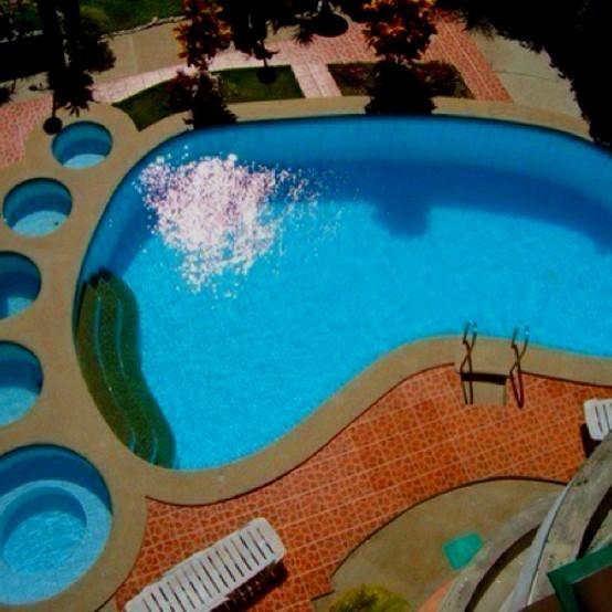 уникални басейни - голямата стъпка
