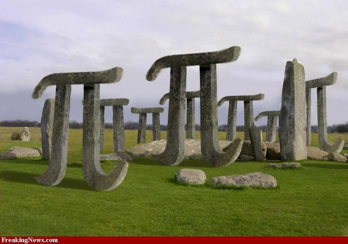 Pi Stonehenge