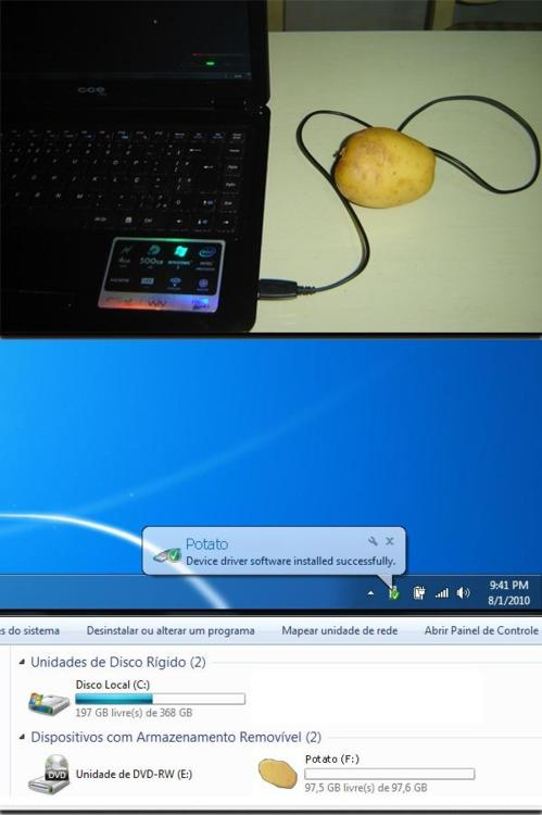 рам памет - картоф