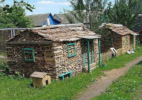 дървена къщичка