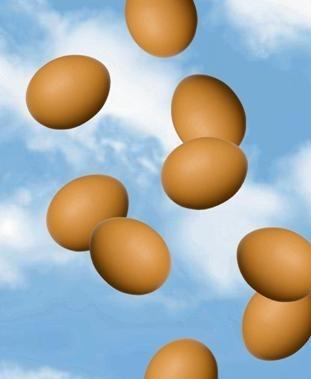 яйца от небето