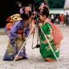 деца с фотоапарат