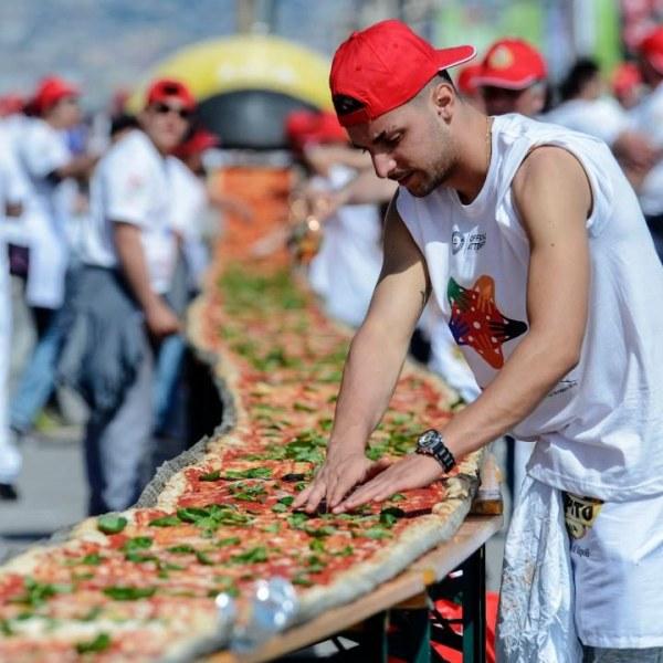 най- големите рекорди с пица