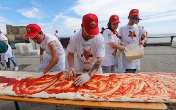 огромна пица рекорд