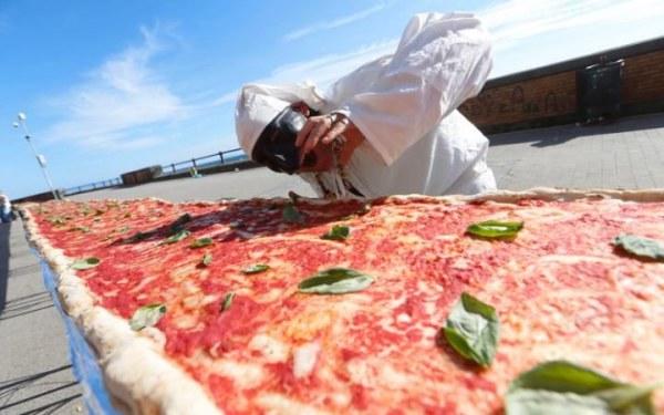 километри пица