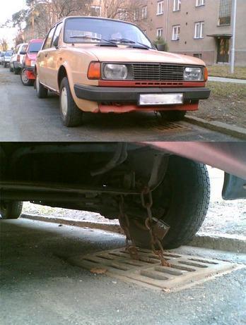 катинар за кола
