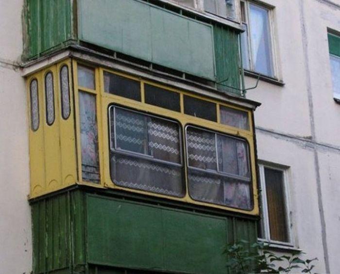 креативно идейно остъкляване на балкона