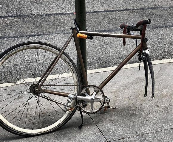 откраднат велосипед