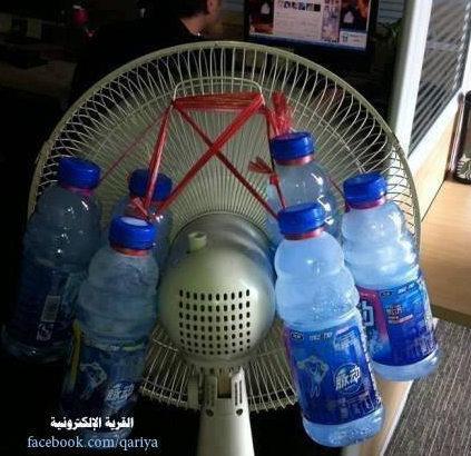 климатик, вентилатор