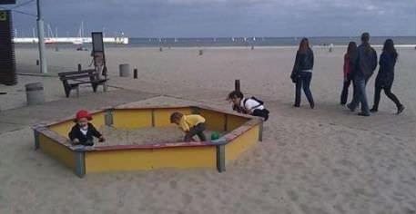 пясъчник на плажа
