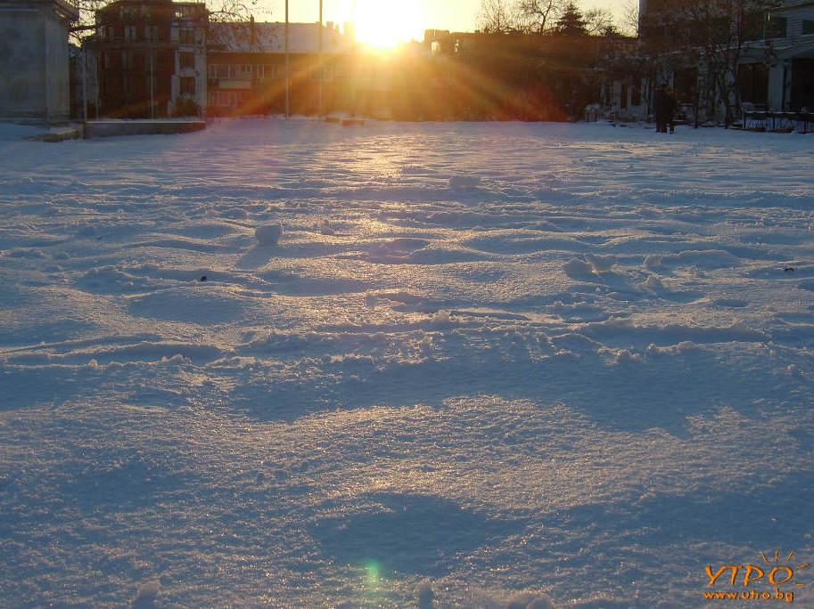 Зима във Варна