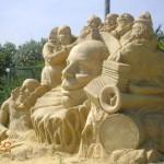 Фестивал на пясъчните фигури – Бургас 2011