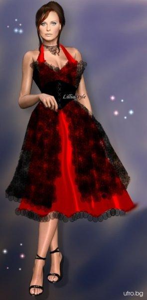 празнична рокля