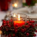 Коледни пламъчета