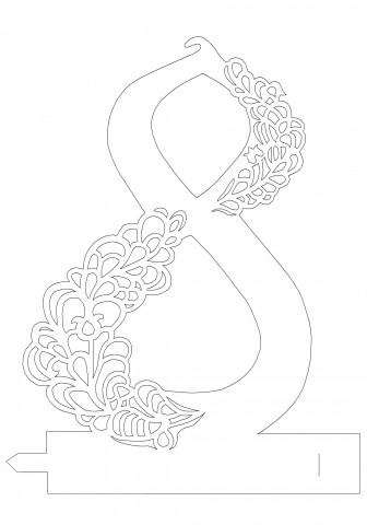 Шаблоны поздравительныех открыток с главная графика открытки-рамки к 8 марта