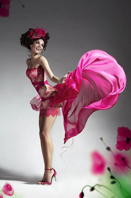 пролетна рокля