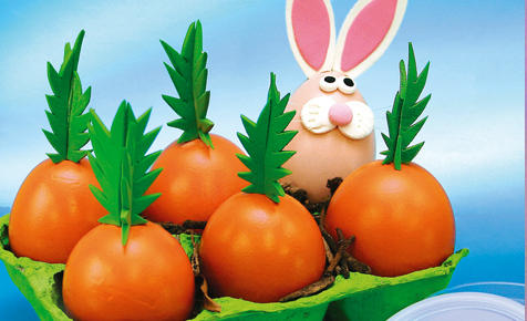 оранжеви яйца