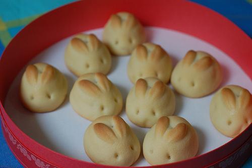 бисквити зайчета