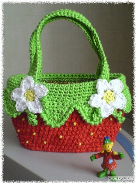 чанта ягодка