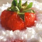 кокос и ягоди