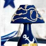 лампа в морски стил