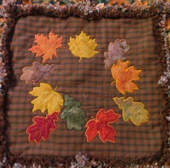 апликация есенни листа