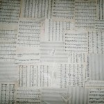 тапети от нотна хартия