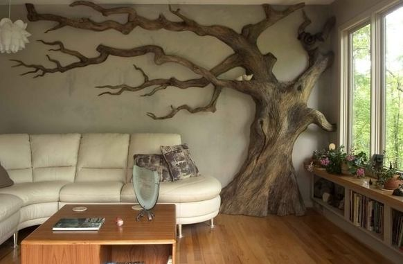 дърво в интериора