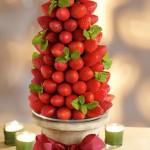 Празнични, плодови декорации