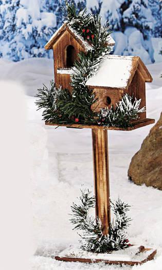 коледна къщичка за птици