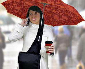 комфортен чадър