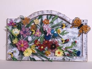 Пролетно пано в July art работилничка