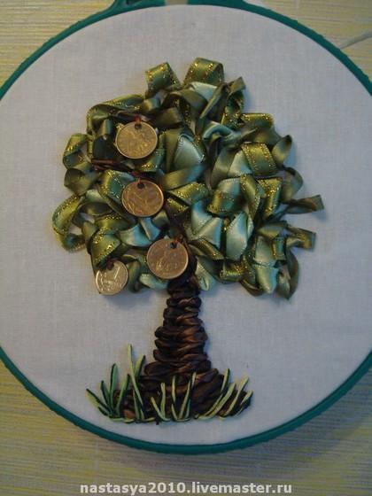 дърво с пари