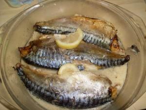 Риба в микровълнова