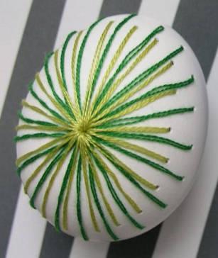 бродерия на яйца