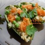 интересно предястие с ориз и авокадо